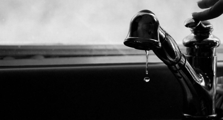 Fuite d'eau : un sérieux problème