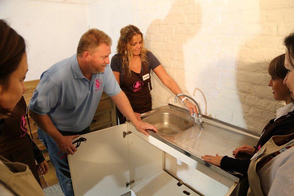 plombier installation évier cuisine